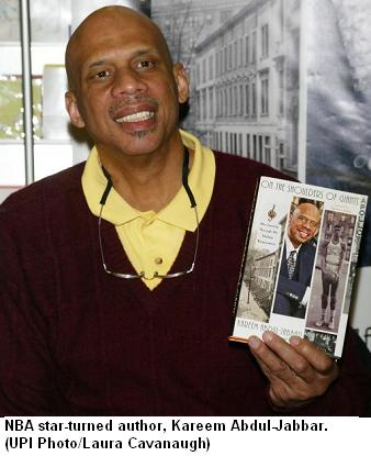 Kareem Abdul Jabbar. writer Kareem Abdul Jabbar