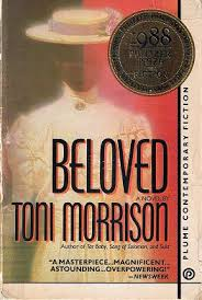 book cover of 'Beloved,' by Toni Morrison, for which she won the Nobel Prize in Literature, 1993
