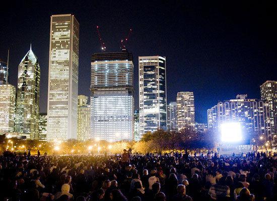grant park obama crowd November 2008
