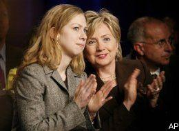 AP photo hillary and chelsea
